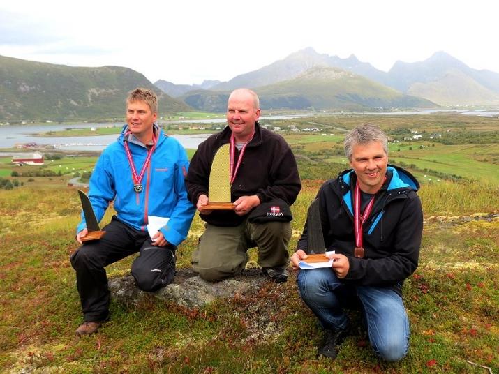 Fra venstre: Bjørn Tore Hagen, Espen Torp, Olav Kalhovd